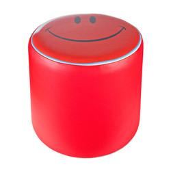 Cubes Hocker Sitzhocker Sitzwuerfel Kunsleder rot