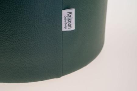 Sitzhocker dunkelgrün Ø34 cm x 60 cm
