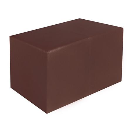 Sitzbank braun Maße: 70 cm x 35 cm x 42 cm