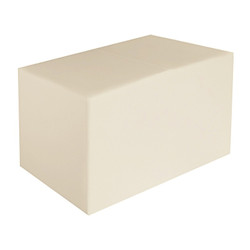 Sitzbank creme Maße: 70 cm x 35 cm x 42 cm