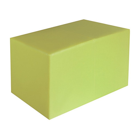 Sitzbank hellgrün Maße: 85 cm x 43 cm x 48 cm