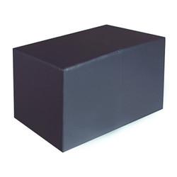 Sitzbank dunkelgrau Maße: 85 cm x 43 cm x 48 cm