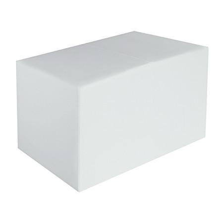 Sitzbank weiss Maße: 85 cm x 43 cm x 48 cm