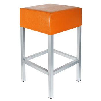 barhocker orange ma e 34 cm x 34 cm x 65 cm barhocker. Black Bedroom Furniture Sets. Home Design Ideas