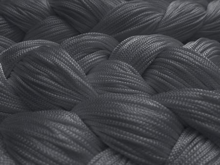 Fadenvorhang 150 cm x 500 cm (BxH) grau