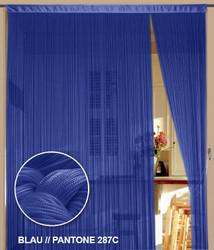 Dieser Fadenvorhang von der Marke Kaikoon der Grösse 150 cm x 300 cm in blau ist super geeignet auch als Raumteiler