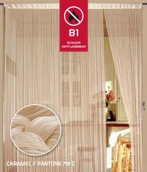 Dieser Fadenvorhang von der Marke Kaikoon der Grösse 090 cm x 240 cm in caramel ist super geeignet für Ihr Zuhause