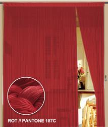 Dieser Fadenvorhang von der Marke Kaikoon der Grösse 150 cm x 300 cm in rot ist super geeignet für Ihr Zuhause