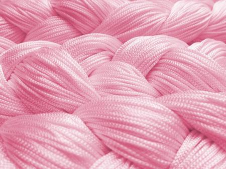 Fadenvorhang 150 cm x 300 cm (BxH) rosa