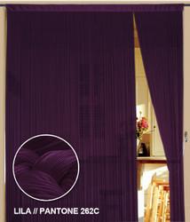 Dieser Fadenvorhang von der Marke Kaikoon der Grösse 150 cm x 300 cm in lila ist super geeignet für Ihr Zuhause.