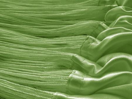 Fadenvorhang 150 cm x 500 cm (BxH) grün