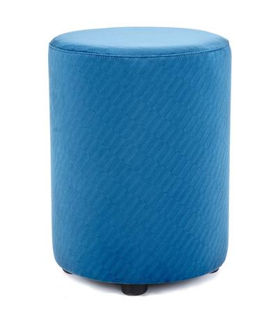 Sitzhocker blau Retro exclusiv von Kaikoon