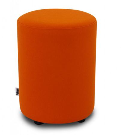 Sitzhocker Filz orange Ø 34 cm x 47 cm