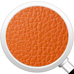 Cubes Hocker Sitzhocker Sitzwuerfel Kunstleder orange