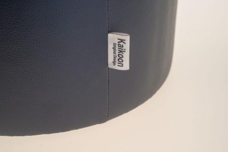 Sitzhocker Dunkelgrau Ø39 x 45cm