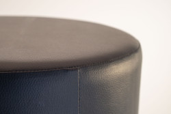 Cubes Hocker Sitzhocker Sitzwuerfel Kunstleder Dunkelgrau