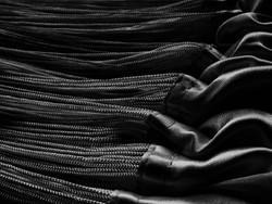 Fadenstore150 cm x 250 cm (BxH) schwarz