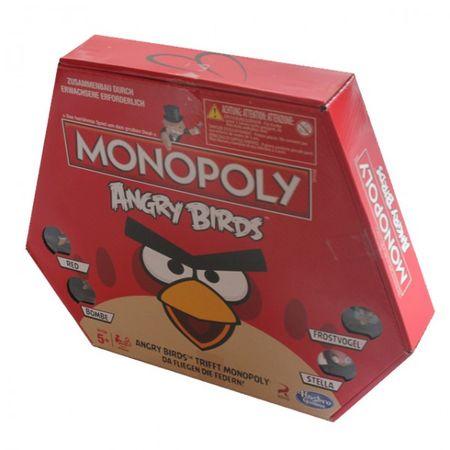 Hasbro A9342 Angry Birds Monopoly Spezial Edition böse Vögel Original Brettspiel  – Bild 2
