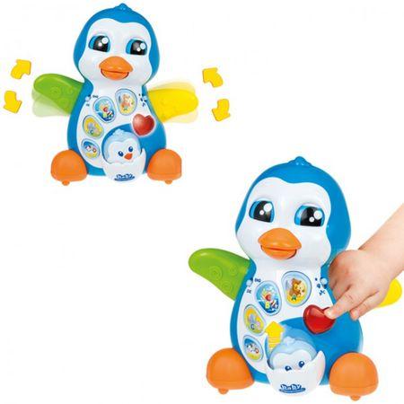 Clementoni 69286 69179 Pinguin Dinosaurier 12-36 M sprechend Elektro Lernspiel – Bild 2
