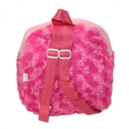 Kinder Plüsch Rucksack mit Hundekopf Rosa Pink Tasche Mädchen Kuscheltier Kindergartenrucksack – Bild 3