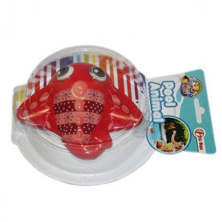 Wasserpielzeug Pool Schwimmspielzeug Krabbe Delfin Schwimmtiere Schildkröte Kinder Baby – Bild 3