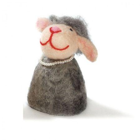 Eierwärmer aus Filz diverse Tiere und Wintermotive Weihnachten Ostern Deko Tisch – Bild 7