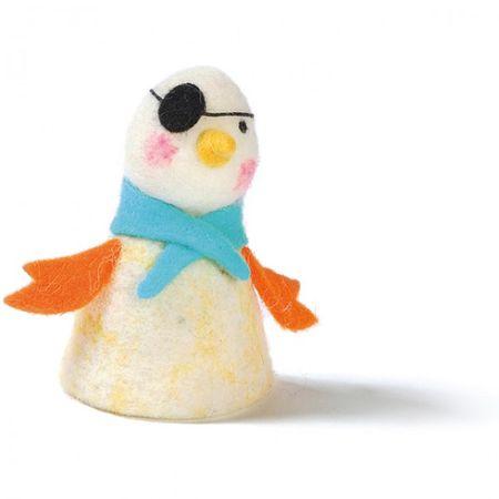 Eierwärmer aus Filz diverse Tiere und Wintermotive Weihnachten Ostern Deko Tisch – Bild 2