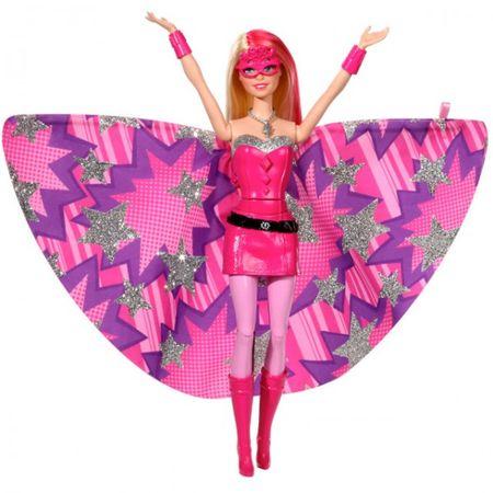 Mattel BARBIE CDY61 Superheldin Prinzessin Modepuppe Figur Ankleidepuppe pink – Bild 2