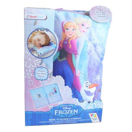 Frozen 2 in 1 Secret Cushion Eiskönigin Geheimkissen Kissen Kopfkissen Kuscheln Verstecken Spielzeug