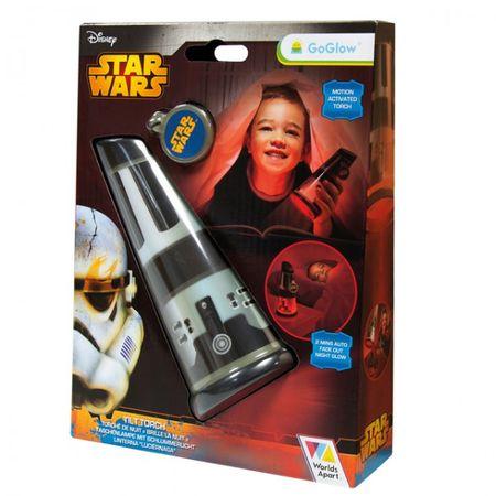 Star Wars GoGlow Tilt Torch Taschenlampe Nachtlicht Kinder Schlafzimmer Kinderzimmer Leuchte Licht – Bild 1