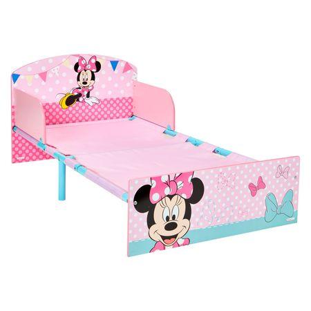 Disney Minnie Mouse 140x70 cm Kinderbett Bettgestell pink rosa Bett Kinderzimmer Möbel Schlafen