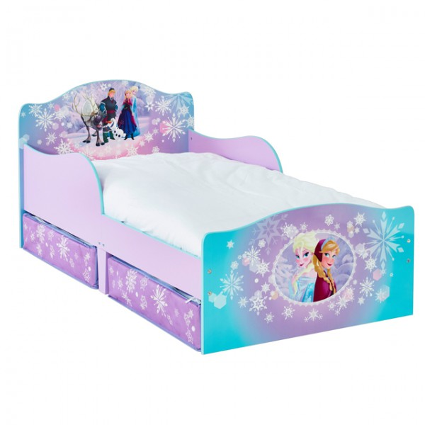 disney frozen 140x70 cm eisk nigin prinzessin kinderbett. Black Bedroom Furniture Sets. Home Design Ideas