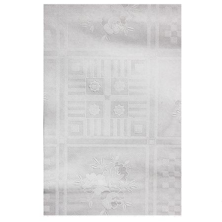 Tischdecke transparent 130x160 cm abwischbar Gartentisch Küche Tischfolie Schutz – Bild 3