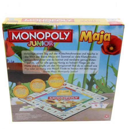 Winning Moves A9245 43027 Biene Maja Monopoly Junior Spiel Gesellschaftsspiel Kinderspiel – Bild 2