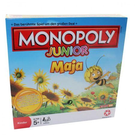 Winning Moves A9245 43027 Biene Maja Monopoly Junior Spiel Gesellschaftsspiel Kinderspiel – Bild 1