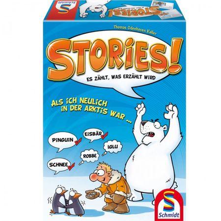 Schmidt 49275 STORIES Spiel Gesellschaftsspiel Denkspiel Kinderspiel Brettspiel