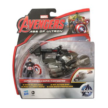 Hasbro B0448 Marvel The Avengers Thor Captain America Hulk Ultimate Figuren Mix – Bild 2