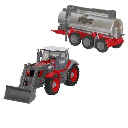 Revell 24962 Farm Tractor Plus mit Frontlader und Güllefaß Trecker Schlepper – Bild 1