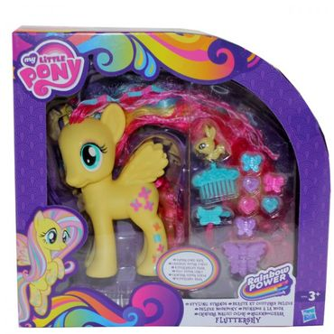 Hasbro A5933 My little Pony Deluxe Modepony Fluttershy Superlanges Haar