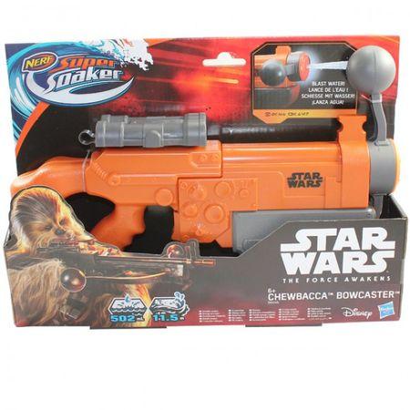 Hasbro B4446 Nerf Super Soaker Star Wars Chewbacca Bowcaster Wasserpistole