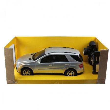 Modellauto Mercedes ML ferngesteuert schwarz/silberfarben 1:14 batteriebetrieben – Bild 2