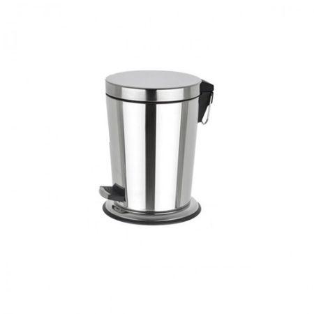 Tretmülleimer 5 Liter Treteimer Kosmetikeimer D:21,5, H:29 cm Abfalleimer Badezimmer – Bild 2