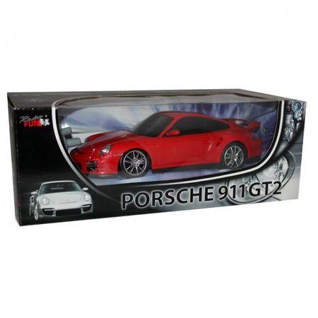 Modellauto PORSCHE 911 GT2 ferngesteuert RC silberfarben/rot 1:24 Kinder ab 6+ – Bild 3