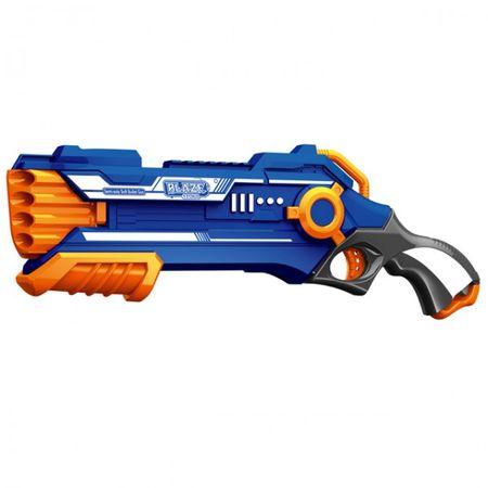 Soft-Pfeil Spielzeug Pistole Set manuell inkl. 20 Schaumstoff Pfeile Pumpgun