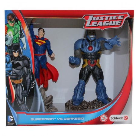SCHLEICH 22510 22509 Batman The Joker Superman Darkseid Justice League Figur – Bild 2