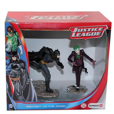 SCHLEICH 22510 22509 Batman The Joker Superman Darkseid Justice League Figur – Bild 1