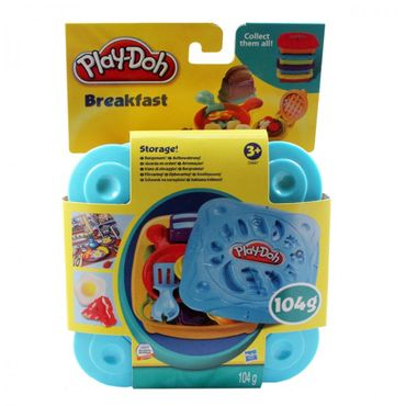 HASBRO Play Doh Knetgerichte Pizza Breakfast Sandwich Fruits Knete Kinder Formen – Bild 2