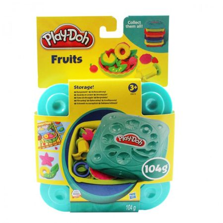 HASBRO Play Doh Knetgerichte Pizza Breakfast Sandwich Fruits Knete Kinder Formen – Bild 4