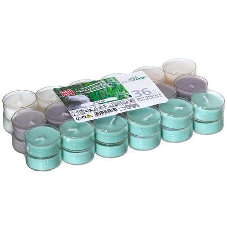 36er Set Villaverde Flatpack Duftteelicht Teelicht Kerze transparente Hülle Deko – Bild 6