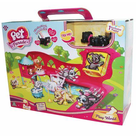 Giochi Preziosi 7018546 Pet Parade Großes Spielset Hunde Spielwelt Welpe Kinder